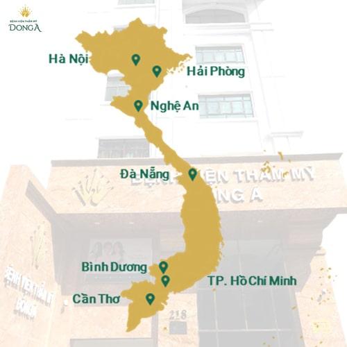 Hình ảnh khách hàng trẻ hóa da thành công tại BVTM Đông Á